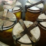 Jars in the canner