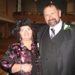 Graeme and I at our daughters wedding